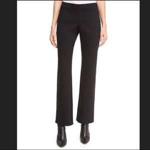NWT Eileen Fisher Black Straight Pant w Yoke